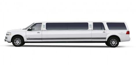 White-Lincoln-Navigator-Limo